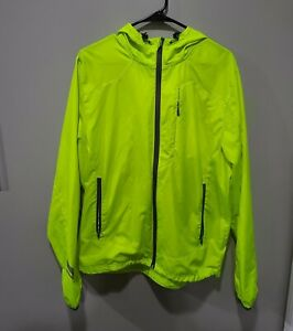 Under Armour Mens Running Jacket Yellow Size Large