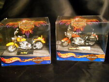 Hot Wheels 1:18 Die Cast Harley Davidson Motorcycles Collectible 2001