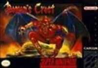 Demons Crest - Nintendo SNES Game Authentic