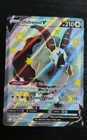 Dubwool V SV120/SV122 - Pokemon Shining Fates - Full Art Ultra Rare Card
