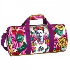 OFFICIAL Frida Kahlo Large Barrel Premium Travel Weekend Sleepover Holiday Bag