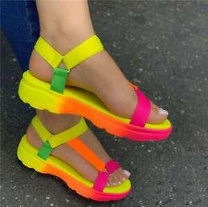 2020 Hot Summer Flat Casual Fashion Fish Mouth Women's Shoes Women Sandals