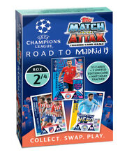 Topps Match Attax Champions League Road to Madrid Deck 2 von 4 Boxen