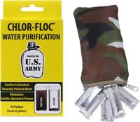 Chlor-Floc Genuine GI Water Purification Powder Packets