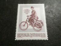 AUTRICHE 1974, timbre 1280, ARBO AUTOMOBILE, TRICYCLE MOTORISE', neuf** MNH
