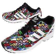 Adidas Torsion ZX Flux B24904 Running Logos Multi-Color/White Men's Shoes Sz 7.5
