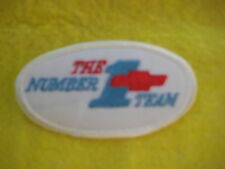 "Vintage Chevrolet The Number 1 Team  Racing  Patch 3 1/2 "" X 2 """