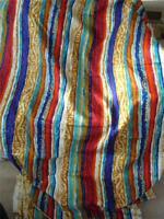 "Retro Barkcloth Fabric 5th Avenue Designs Upholstery Multicolor 21.6 feet x 50"""