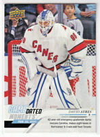 2019-20 Upper Deck GAME DATED MOMENTS DAVID AYRES Emergency Goalie #54 Leafs