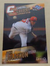 John Holdzkom 2013/14 Australian Baseball League Card (Pittsburgh Pirates)