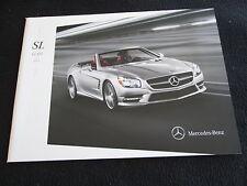 2014 Mercedes Benz SL-class Sales Brochure SL550 SL63 SL65 AMG R231 US Catalog