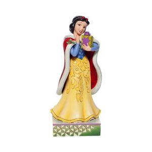 Enesco H0 Disney Traditions Jim Shore 6.7'' H Christmas Snow White Figurine