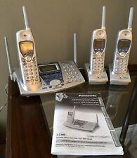 Panasonic KX-TG2740S Expandable Cordless Phone System 2.4 GHz w/ Extra Handset