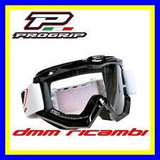 Occhiali PROGRIP 3202 Cross Enduro Motard ATV Quad PitBike Bici MTB DH Nero