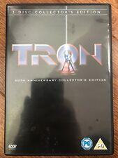 Jeff Bridges TRON ~ Classic Original 1982 Walt Disney Sci-Fi 2-Disc UK DVD