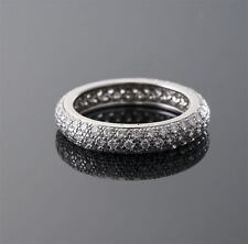 CARTIER   PLATINUM  DIAMOND  ETERNITY  RING
