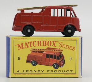 Lesney Matchbox 9C Merryweather Marquis Fire Engine 1959