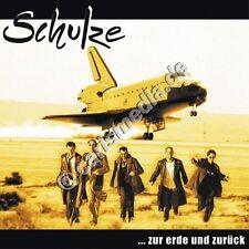 CD: ZUR ERDE UND ZURÜCK (Schulze) - Deutsch-Rock christlicher Musiker *NEU*