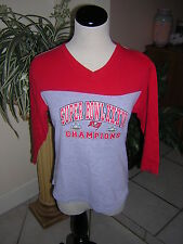 TAMPA BAY BUCCANEERS NFL FOOTBALL SHIRT TOP FOR HER M