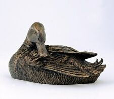 Langholm Design  Mallard Duck (Bronze Effect) Figurine  NEW