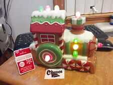 New with tags Hallmark CHRISTMAS EXPRESS MUSICAL TRAIN Features Light and Sound.