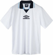 UMBRO Mens Pro Training Euro 96 Tournament Jaquard Top White UK XXL *NEW