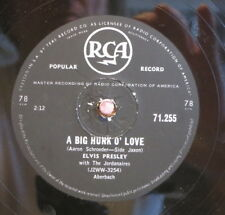 Elvis Presley / A Big Hunk Of Love & My Wish Came True (52-0115)