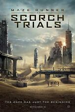 Maze Runner The Scorch Trials Movie Poster (24x36) - Dylan O'Brien, Emmanuel
