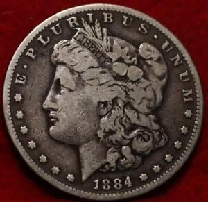 1884-S San Francisco Mint Silver Morgan Dollar