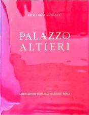 Libro Illustrato Palazzo Altieri Roma Vita Architetto Armando Schiavo 1962