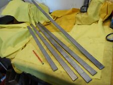 """5 pc LOT STAINLESS STEEL FLAT BAR STOCK machine shop 3/16"""" x 1"""" x 158 3/4"""" TOTAL"""