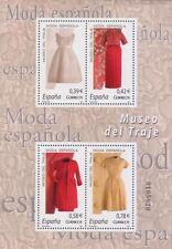 España 2007 Edifil 4354 Sellos ** HB Moda Española Museo del Traje Spain Stamps