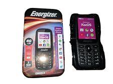 KaiOs Smart feature phone Energizer E241S 4GB Dual sim 4G LTE Whatsapp Selfie