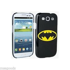 Hard Phone Back Case Cover For Samsung Galaxy S3  GENUINE DC COMICS BATMAN NIB