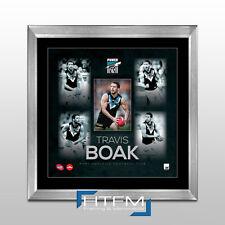 Travis Boak Port Adelaide AFL Player Print Framed - OFFICIAL AFL MEMORABILIA