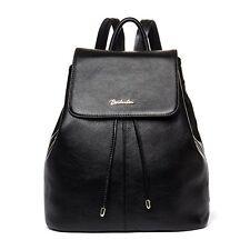 BOSTANTEN Womens Genuine Leather Backpack Purse Handbags Women Black NEW