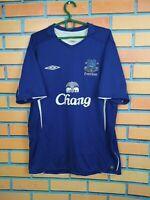 Everton Jersey 2005 2006 Home LARGE Shirt Football Soccer Umbro