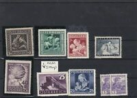 austria mint never hinged stamps ref 16758