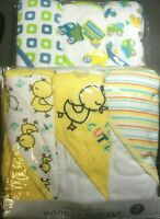 Little beginnings children's hooded towels 3-PACK (lot of 2)