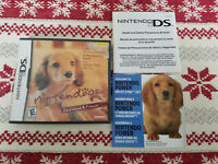 Nintendogs Dachshund & Friends - Authentic - Nintendo DS - Case / Box Only!