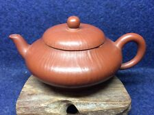 Chinese Rare YiXing Old Zhou Pi ZhuNi Red Clay Teapot Year Manufactured 80s H59