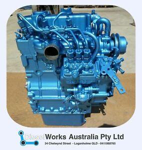Nanni 3.21 Marine Diesel Engine - Fully Reconditioned Exchange Engine