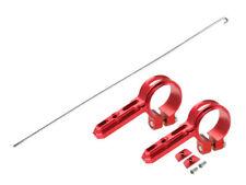 Aluminium Tail Servo Mount avec acier tige poussoir (rouge) - 180 CFX