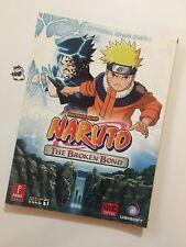 Shonen Jump Naruto: The Broken Bond - Official Strategy Guide - 2008