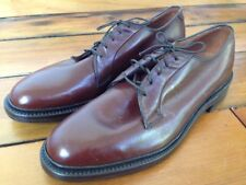 Vintage 1975 Lewis & Thos Saltz J&M Brown Leather Mens Shoes Oxfords 8C 41