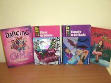 4 tolle Bücher (u.a. Monster Mia, Die drei !!!) teilw. NEU