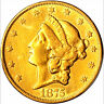 1875-CC $20 XF40 PCGS- DETAILS REPAIRED - LIBERTY HEAD-ONLY 1426 IN HIGHER