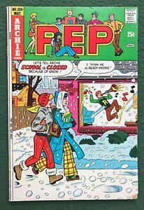 Pep #289 Archie Comics Modern Age Betty Jughead Veronica Reggie vg/f