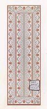 Mosaic Tile Border 34179 floor sheet dollhouse 1pc 1/12 scale World & Model