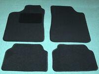 Passform-Velours-Fußmatten für Mercedes-Benz SLK R171 Autoteppiche in schwarz